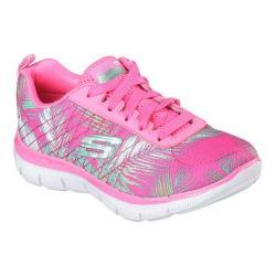 Girls' Skechers Skech Appeal 2.0 Tropical Breeze Trainer Hot Pink/Multi