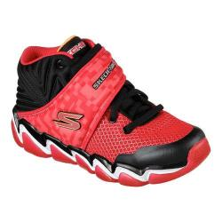 Boys' Skechers Skech-Air 3.0 Abrupt Impacts High Top Trainer Red/Black