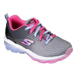 Girls' Skechers Skech-Air Deluxe Trainer Charcoal/Multi