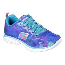 Girls' Skechers Spirit Sprintz Color Wave Trainer Blue/Multi