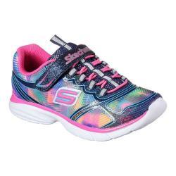 Girls' Skechers Spirit Sprintz Sneaker Navy/Multi