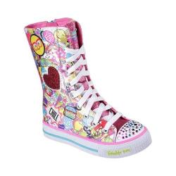 Girls' Skechers Twinkle Toes Shuffles Chillin Dayz High Top Multi