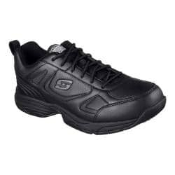 Men's Skechers Work Relaxed Fit Dighton Slip Resistant Sneaker Black|https://ak1.ostkcdn.com/images/products/167/428/P20765676.jpg?impolicy=medium