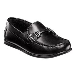 Boys' Florsheim Jasper Bit Jr. Driver Black Leather