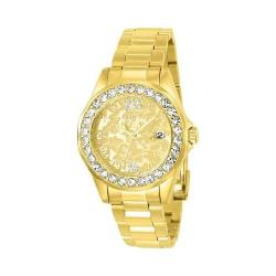 Women's Invicta Disney Limited Edition 22870 Gold Stainless Steel