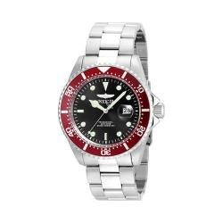 Men's Invicta Pro Diver 22020 Silver Stainless Steel/Black