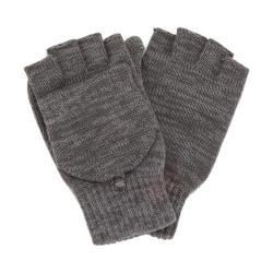 Men's Perry Ellis Space Dyed Flip Mitten Glove Alloy - Thumbnail 0