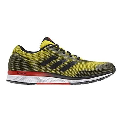 sports shoes efc03 be698 Shop Men s adidas Mana Bounce 2 Aramis Running Shoe Bright Yellow Core Black  Core Red - Free Shipping Today - Overstock - 14180780