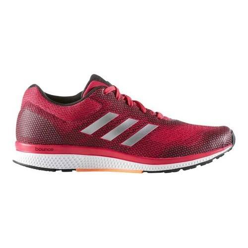 8709cbd2e Shop Women s adidas Mana Bounce 2 Aramis Running Shoe Bold Pink Silver  Metallic Glow Orange - Free Shipping On Orders Over  45 - Overstock -  14196016