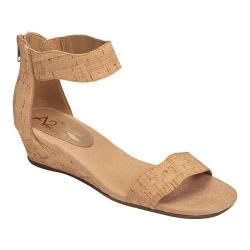 Women's A2 by Aerosoles Yet Around Ankle Strap Sandal Cork Combo Faux Cork