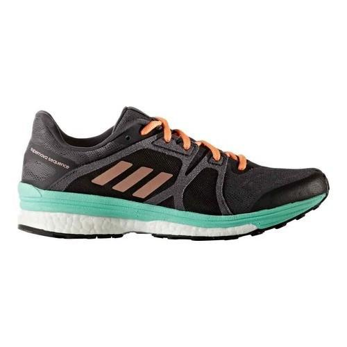 50eee270e Shop Women s adidas Supernova Sequence 9 Running Shoe Utility Black Tech  Rust Metallic Easy Green - Free Shipping Today - Overstock - 14196021