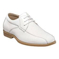 Boys' Florsheim Reveal Bike Oxford Jr. White Leather