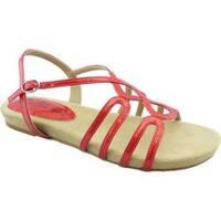 Women's Bellini Nadine Strappy Slingback Sandal Red Patent Polyurethane