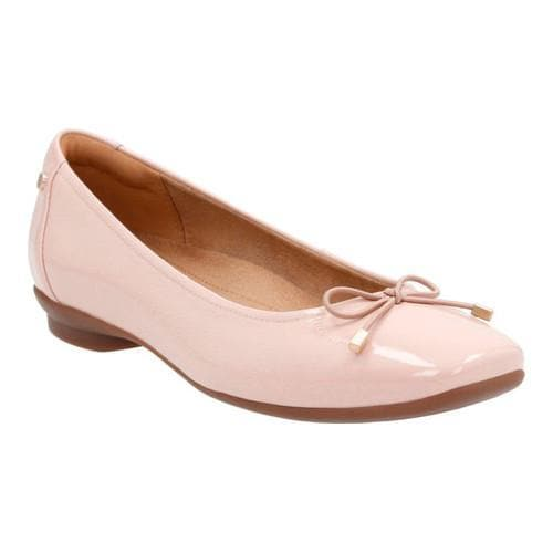 db54b69a1ea Shop Women s Clarks Candra Light Ballet Flat Dusty Pink - Free Shipping  Today - Overstock - 14201564