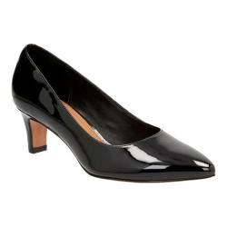 Women's Clarks Crewso Wick Pump Black Patent Leather