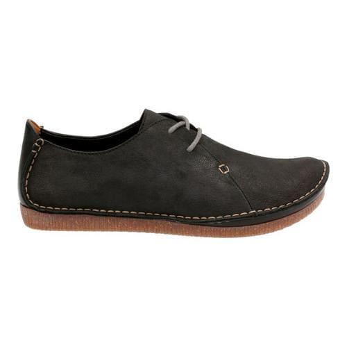 b5f61bb7edfa41 Shop Women s Clarks Janey Mae Lace Up Shoe Black Nubuck - Free ...