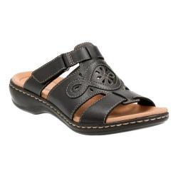 Women's Clarks Leisa Higley Slide Black Leather