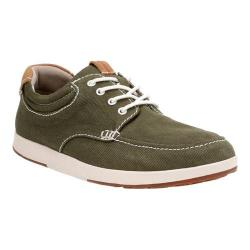 Men's Clarks Norwin Vibe Olive Text