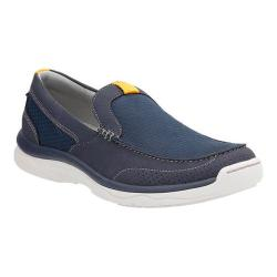 Men's Clarks Marus Step Loafer Navy Textile