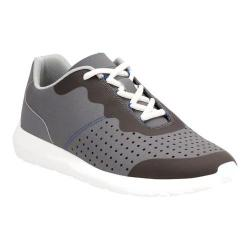 Men's Clarks Torset Vibe Sneaker Grey Textile/Mesh