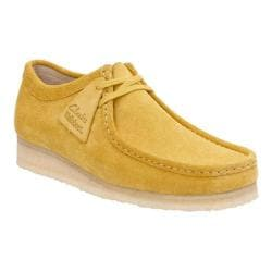 Men's Clarks Wallabee Ochre Suede