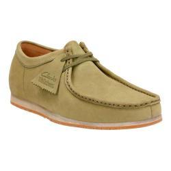 Men's Clarks Wallabee Step Moc Toe Shoe Olive Nubuck
