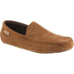 Men's Bearpaw Peeta Solids Moccasin Hickory Tweed Cow Suede