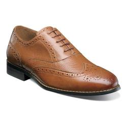 Men's Nunn Bush Tristan Wingtip Oxford Tan Leather