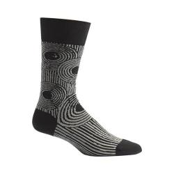 Men's Ozone Sand Ripples Crew Socks Black