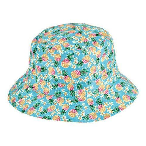 Children's San Diego Hat Company Reversible Bucket Hat CTK4153 Fruit