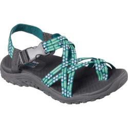 skechers yoga mat sandals. women\u0027s skechers reggae loopy sandal mint yoga mat sandals