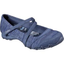 Women's Skechers Relaxed Fit Bikers Ripples Mary Jane Blue