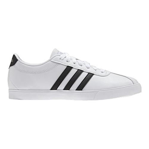 Women's adidas NEO Courtset Sneaker FTWR White/Core Black/Matte