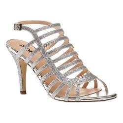 Women's Pink Paradox London Skylar Cage Shoe Silver Synthetic