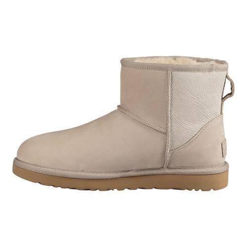 3e197dc3f89 Women's UGG Classic Mini II Snake Ceramic Nubuck   Overstock.com Shopping -  The Best Deals on Boots