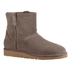 Women's UGG Classic Unlined Mini Perf Mole Suede