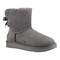 Women's UGG Mini Bailey Bow II Grey