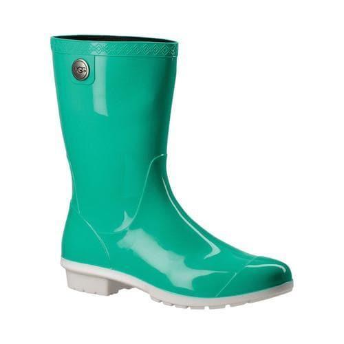 Women's UGG Sienna Rain Boot Neon Green