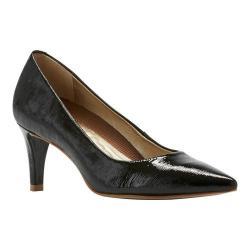 Women's Walking Cradles Sophia Pump Black Bambu Patent Leather
