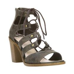 Women's Fergalicious Mambo Ghillie Sandal Moss Oiled Fabric
