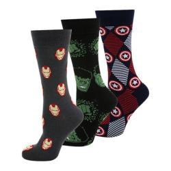 Cufflinks Inc Marvel's Avengers 3 Pair Sock Gift Set Multi