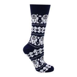 Cufflinks Inc R2D2 Tacky Sweater Sock Navy