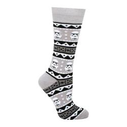 Cufflinks Inc Stormtrooper Tacky Sweater Sock Gray