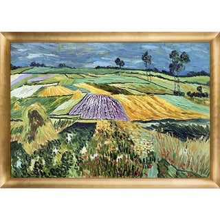 Vincent Van Gogh Wheatfields Hand Painted Oil Reproduction