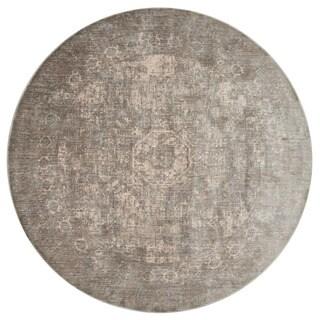 Contessa Grey/ Sage Rug (5'3 x 5'3 Round) - 5'3 x 5'3