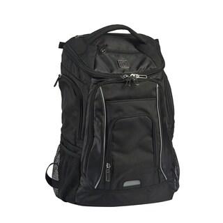 Ful Edrik Black Padded 17-inch Laptop Backpack
