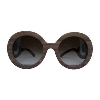 Prada SPR 27R IAM-6S1 Women's Brown Frame Brown lenses sunglasses