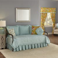 Waverly Modern Poetic Reversible Daybed Quilt Set
