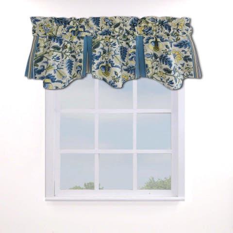Waverly Imperial Dress Porcelain Curtain Valance - 50x18