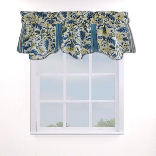 Waverly Imperial Dress Porcelain Curtain Valance - 50x18